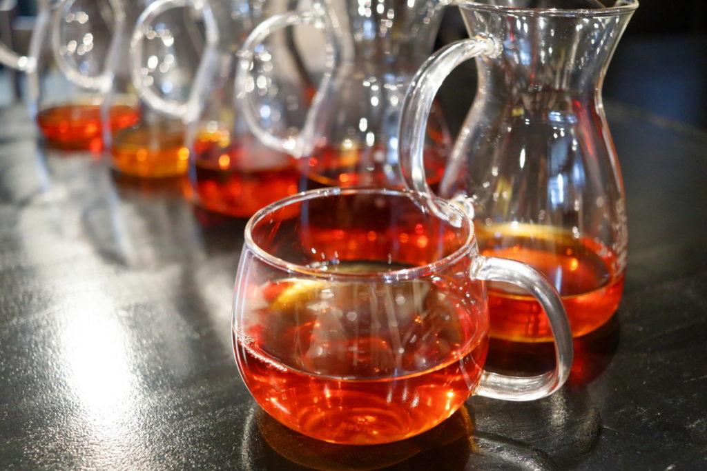 紅茶のリーフの量見直しました