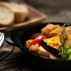 彩り野菜のオーブン焼き